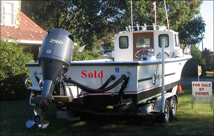 C hawk 25 39 1991 sport fishing boat for sale with 2004 for Yamaha 250 boat motor for sale